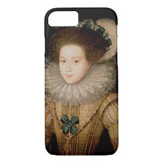 Coque iPhone 7 Portrait de Madame, probablement reine de Mary des