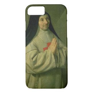 Coque iPhone 7 Portrait de mère Catherine-Agnès Arnauld (1593-1