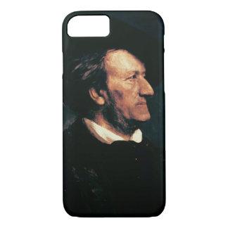Coque iPhone 7 Portrait de Richard Wagner (1813-83) (huile sur le