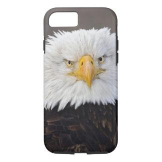 Coque iPhone 7 Portrait d'Eagle chauve, Eagle chauve en vol,