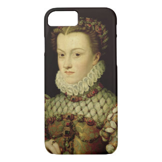 Coque iPhone 7 Portrait d'Elizabeth de 1554-92) reines o de