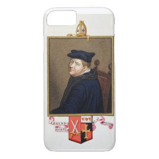 Coque iPhone 7 Portrait d'évêque d'Edmund Bonner (c.1500-69) de