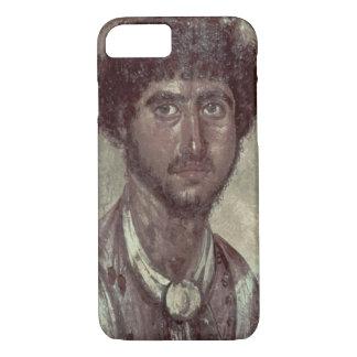 Coque iPhone 7 Portrait d'un Grec, de Fayum, Romano-Égyptien,
