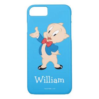 Coque iPhone 7 Pose classique grosse du porc |
