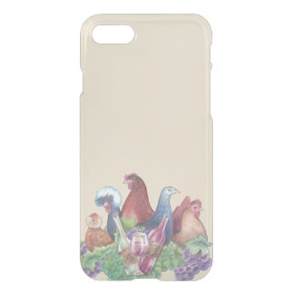 Coque iPhone 7 Poulets et vin