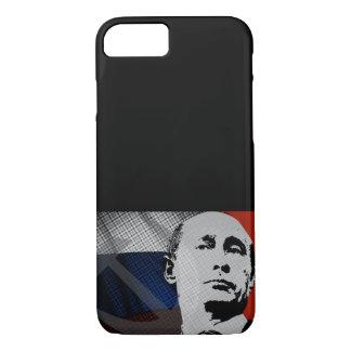 Coque iPhone 7 Poutine avec le drapeau russe