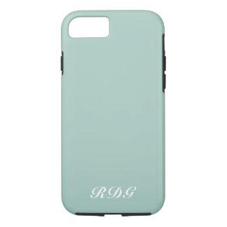 Coque iPhone 7 Professionnel moderne bleu-clair avec le