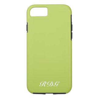 Coque iPhone 7 Professionnel moderne de vert de chaux avec le