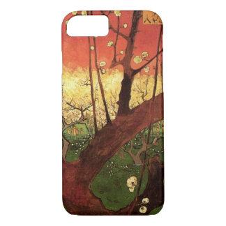 Coque iPhone 7 Prunier fleurissant japonais de Van Gogh,
