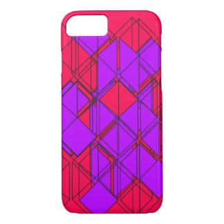 Coque iPhone 7 Purple Square