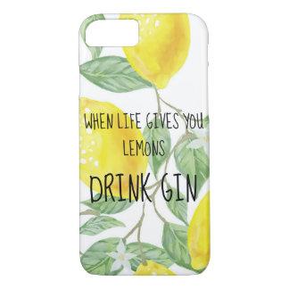 Coque iPhone 7 quand la vie vous donne des citrons