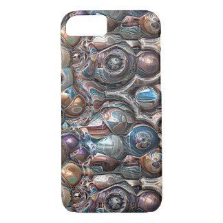 Coque iPhone 7 réflexions 3D de cuivre