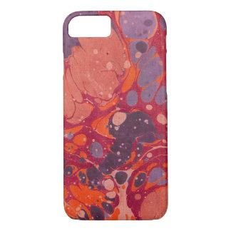 Coque iPhone 7 Remous abstraits colorés de peinture - cas de