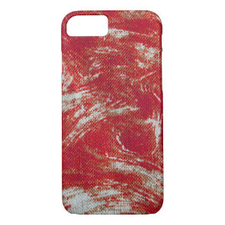 Coque iPhone 7 Remous rouge