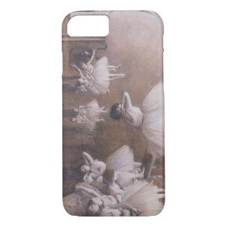 Coque iPhone 7 Répétition de ballet d'Edgar Degas | sur l'étape,