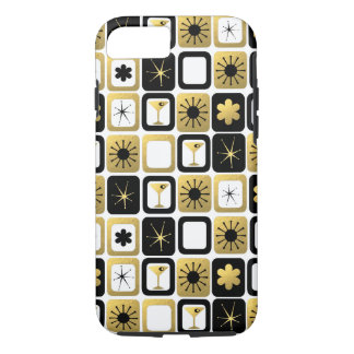 Coque iPhone 7 Rétro cas fascinant de l'iPhone 7 d'or