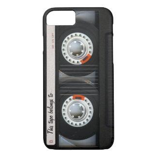 Coque iPhone 7 Rétro enregistreur à cassettes de musique du cru