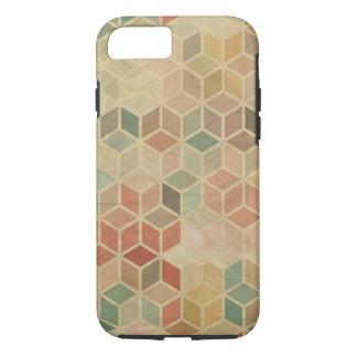 Coque iPhone 7 Rétro motif géométrique 5