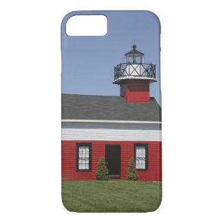 Coque iPhone 7 Rivage replacé par phare à Douglas près