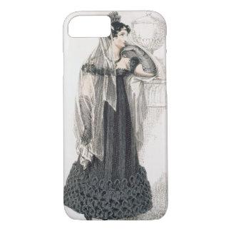 Coque iPhone 7 Robe de deuil, plat de mode du représentant