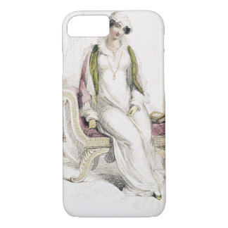 Coque iPhone 7 Robe de jour, plat de mode de Reposito d'Ackermann
