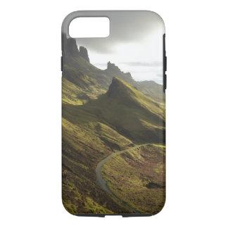 Coque iPhone 7 Route montant le Quiraing, île de Skye,