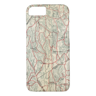 Coque iPhone 7 Routes de bicyclette à New York et Connecticut