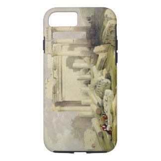 Coque iPhone 7 Ruines du portique oriental du temple du Baal
