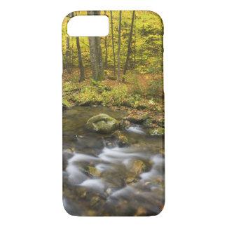 Coque iPhone 7 Ruisseau de Sanderson.  Forêt d'état de