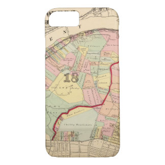 Coque iPhone 7 Salles 1819 de Pittsburgh, Pennsyvania