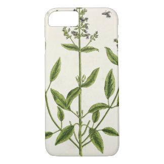 "Coque iPhone 7 Salviam ""d'un de fines herbes curieux"", 1782"