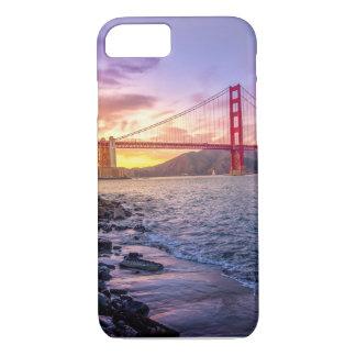 Coque iPhone 7 San Francisco - golden gate bridge - cas Iphone7