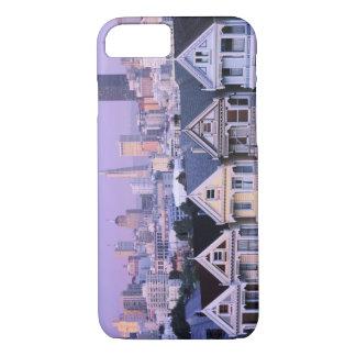 Coque iPhone 7 San Francisco, la Californie. Vue de victorien