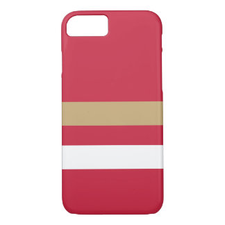 Coque iPhone 7 San Francisco Red&Gold