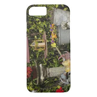 Coque iPhone 7 Seaux, chaussures, et fleurs, Zaanse Schans,