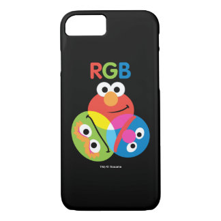 Coque iPhone 7 Sesame Street de RVB