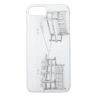 Coque iPhone 7 Sièges de jardin, 'de l'art et du métier du jardin