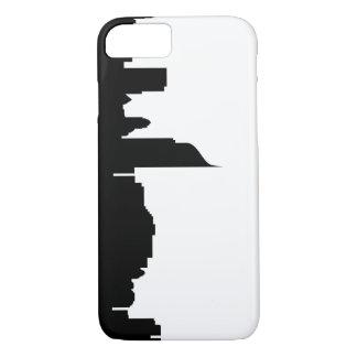 Coque iPhone 7 silhouette Indonésie d'horizon de ville de Jakarta