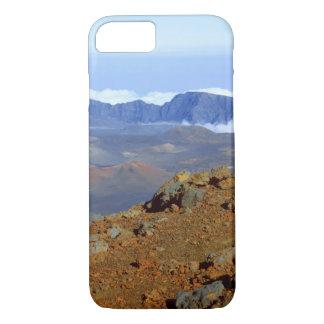 Coque iPhone 7 Silversword sur la jante de cratère de Haleakala
