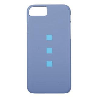 Coque iPhone 7 Smartphone case dans with les points blue