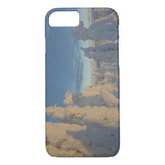 Coque iPhone 7 Snowghosts au coucher du soleil à la montagne 2 de