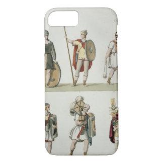 Coque iPhone 7 Soldats romains, détail du plat 2, classe 5 de PA