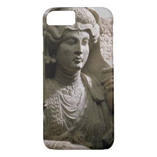 Coque iPhone 7 Soulagement de tombe de buste de portrait, romain,