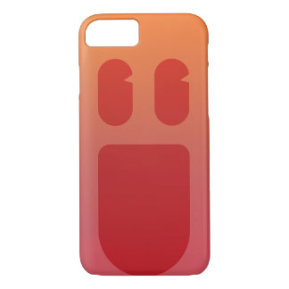 Coque iPhone 7 Sourire rouge Phonecase