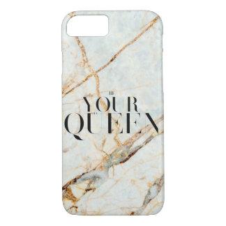 Coque iPhone 7 Soyez votre propre cas de téléphone de la Reine