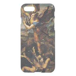 Coque iPhone 7 St Michael accablant le démon, 1518
