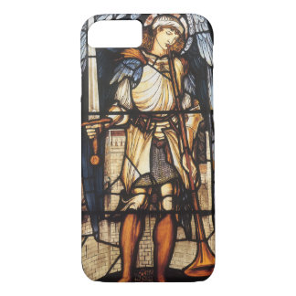 Coque iPhone 7 St Michael par Burne Jones, Arkhangel vintage