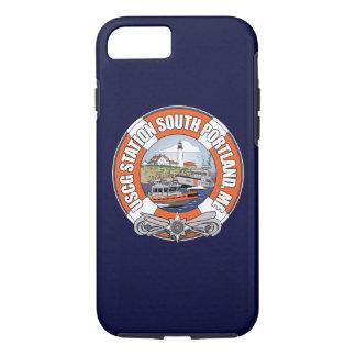 Coque iPhone 7 Station de la garde côtière Portland du sud Maine