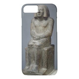Coque iPhone 7 Statue d'Ankh, prêtre de Horus, pe dynastique tôt