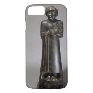 Coque iPhone 7 Statue de Gudea, prince de Lagash, Néo--Sumérien,